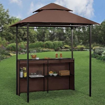 Outdoor bar sets with canopy bring your outdoors to life this summer interior exterior ideas - Bar canopy designs ...