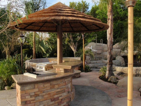 outdoor bar top designs photo - 1