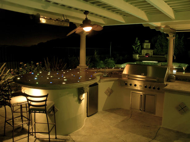 outdoor bar top designs photo - 4