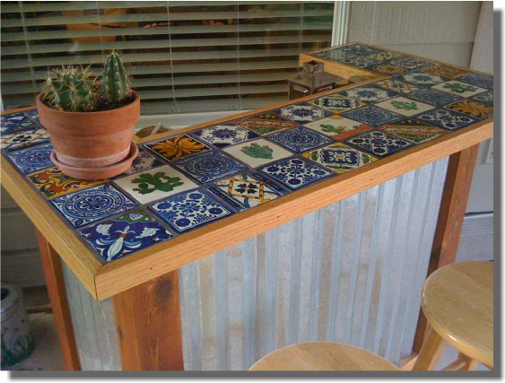 outdoor bar top designs photo - 6