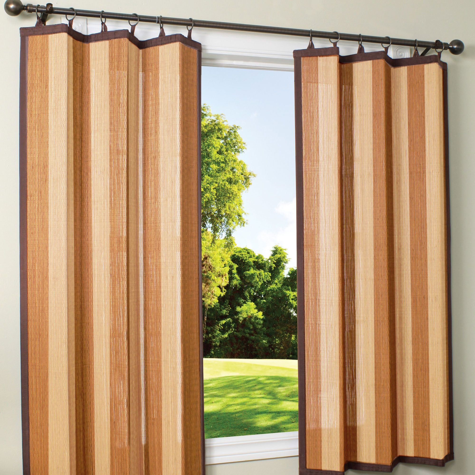 Outdoor bamboo curtains - Outdoor Curtains Bamboo Photo 5