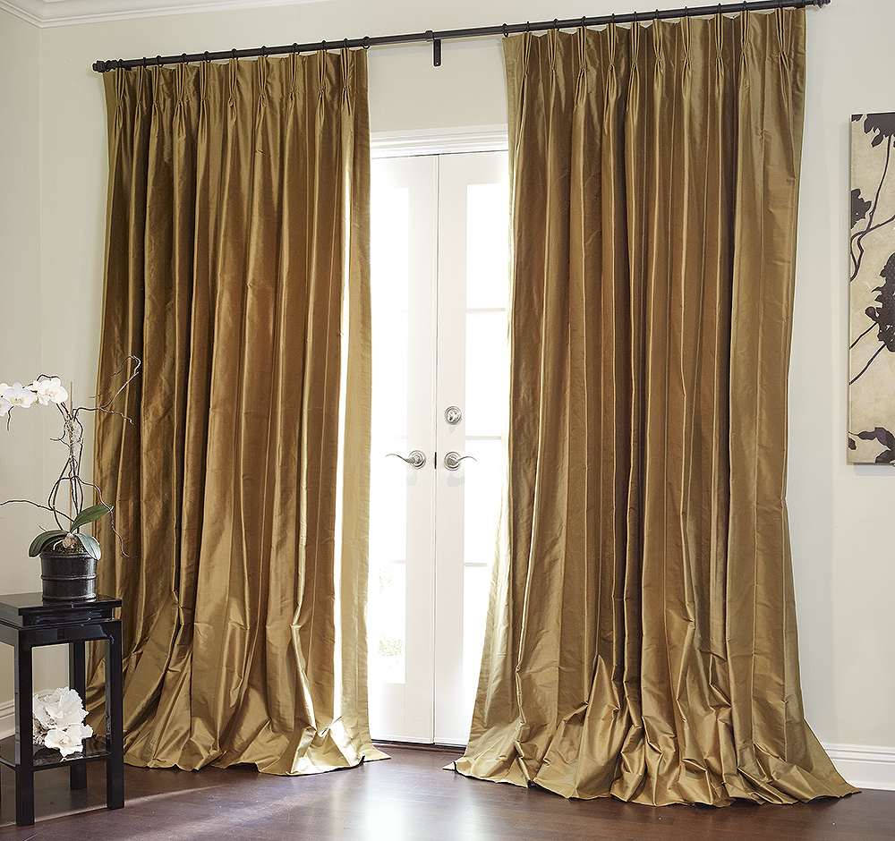 outdoor curtains black photo - 6