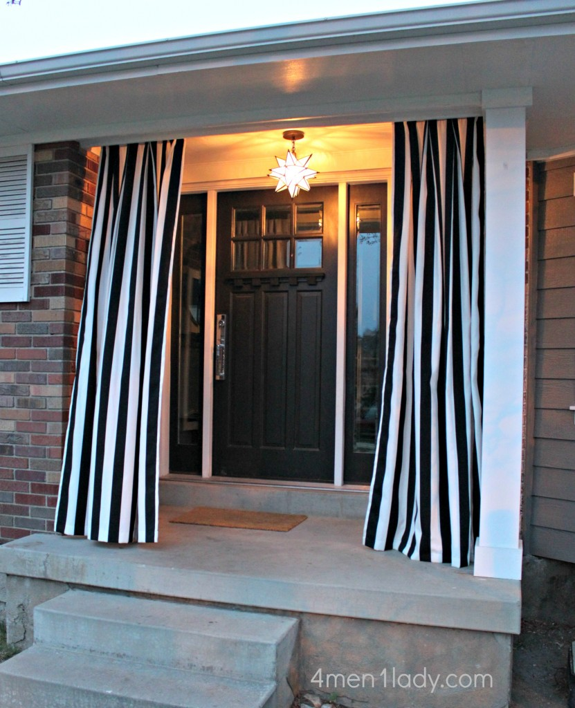 outdoor curtains diy photo - 3