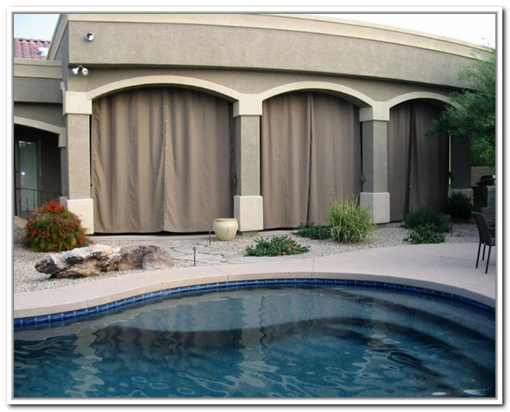 Outdoor curtains for patio interior amp exterior doors