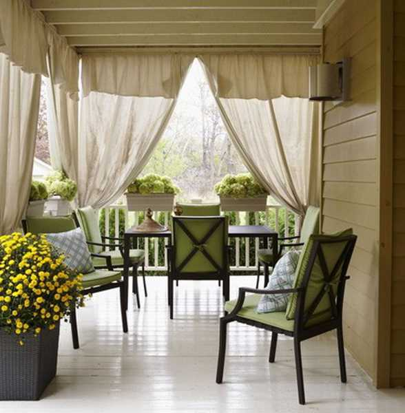 outdoor curtains for patio photo - 3