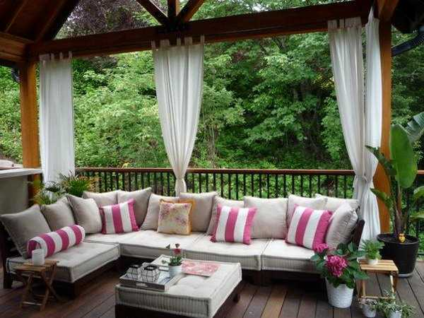 outdoor curtains for patio photo - 5