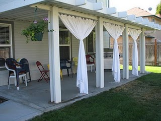 outdoor curtains for patio photo - 6