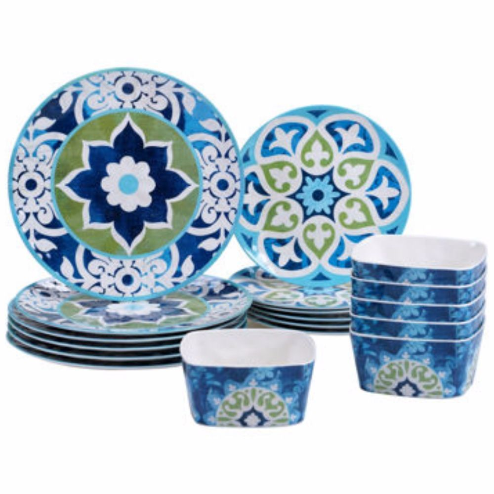 Outdoor Dining Plate Sets Photo   4