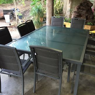 outdoor dining set bunnings photo - 3