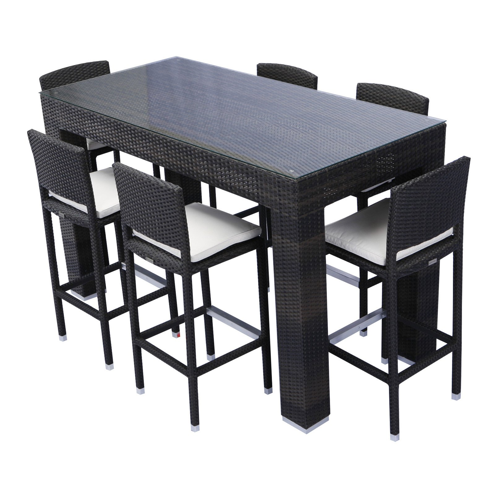 outdoor dining sets bar height photo - 3