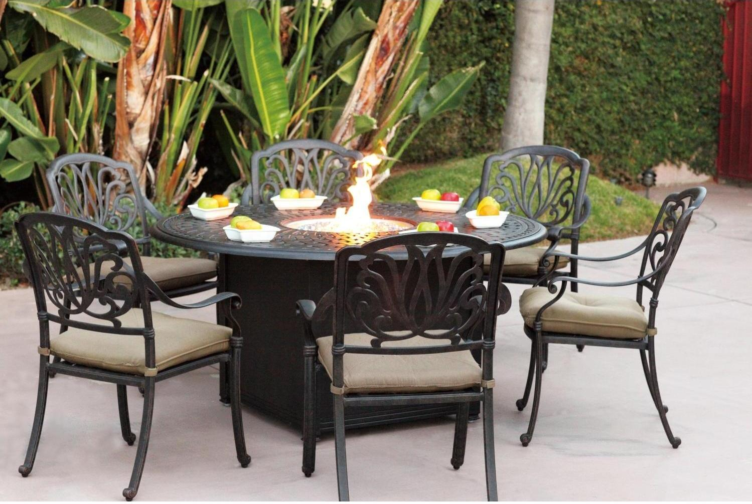 outdoor dining sets black photo - 5