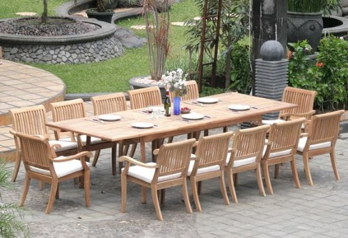 outdoor dining sets for 12 photo - 2