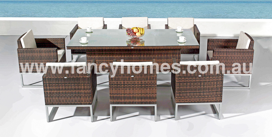 outdoor dining sets for 8 photo - 2