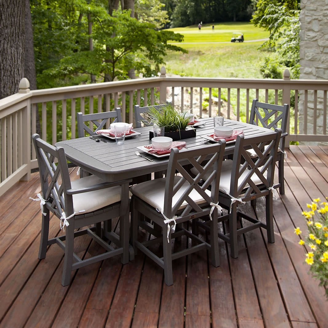 outdoor dining sets for 8 photo - 6
