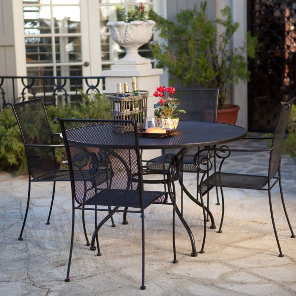 outdoor dining sets iron photo - 3
