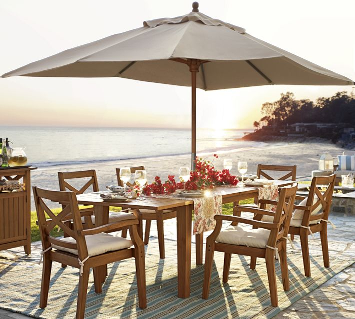 Outdoor Dining Sets With Umbrella Interior Exterior Doors