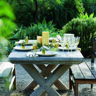 outdoor dining table ideas photo - 4