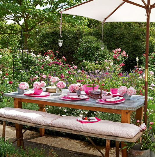 outdoor dining table ideas photo - 6