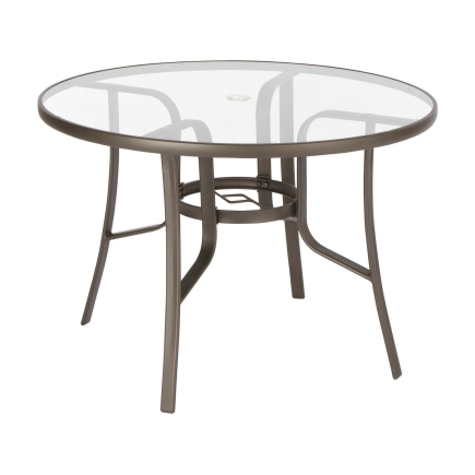 outdoor dining table replacement glass photo - 3