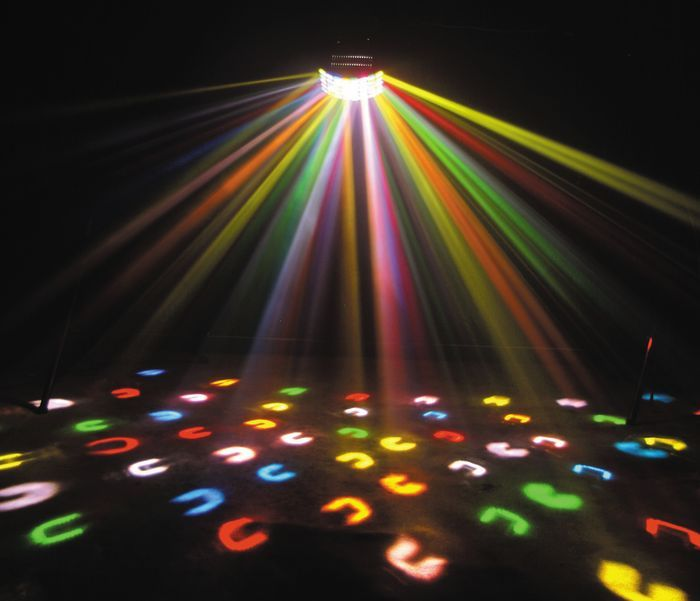 outdoor disco party lights photo - 2