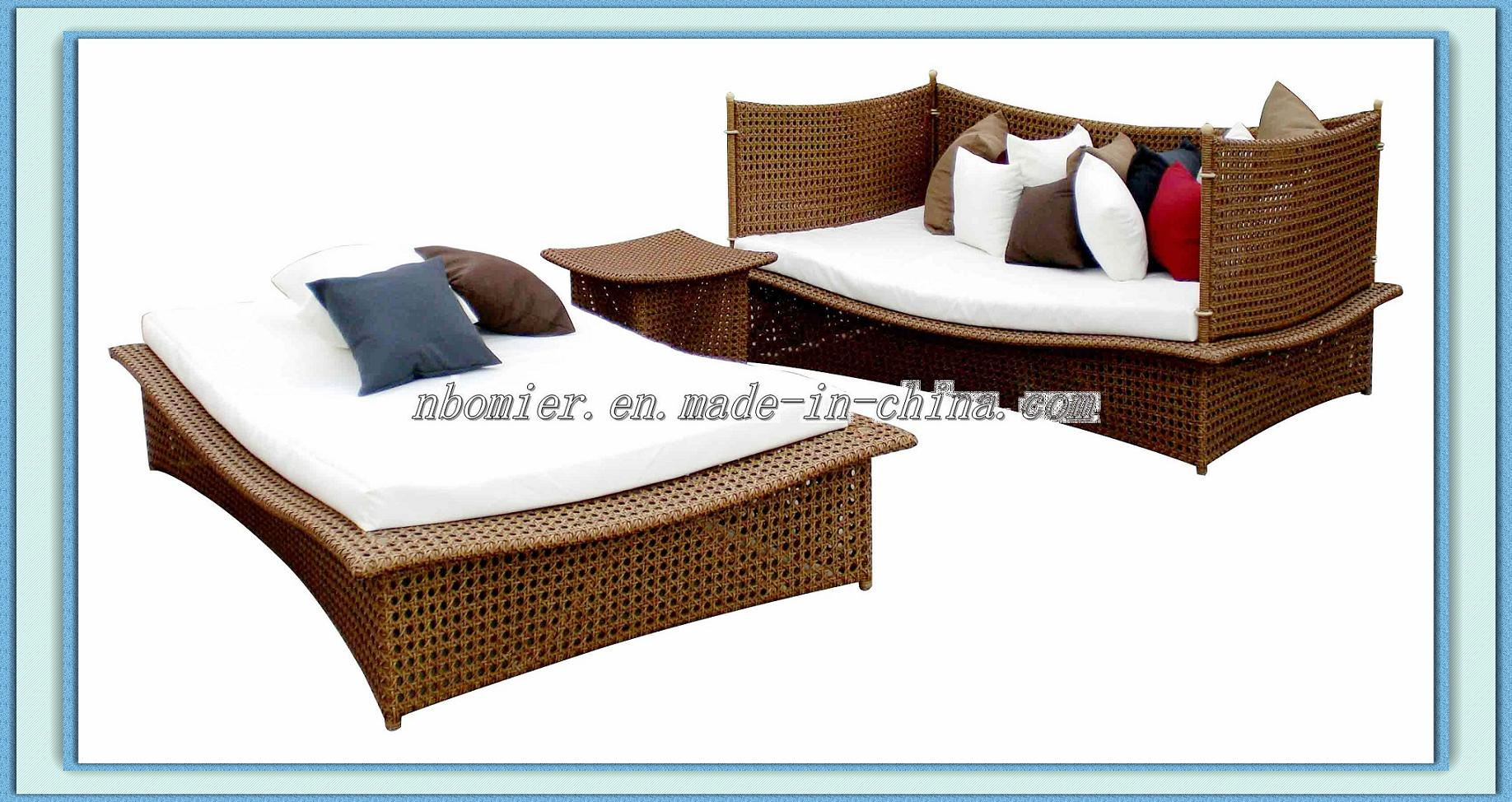 outdoor furniture lounge bed photo - 2