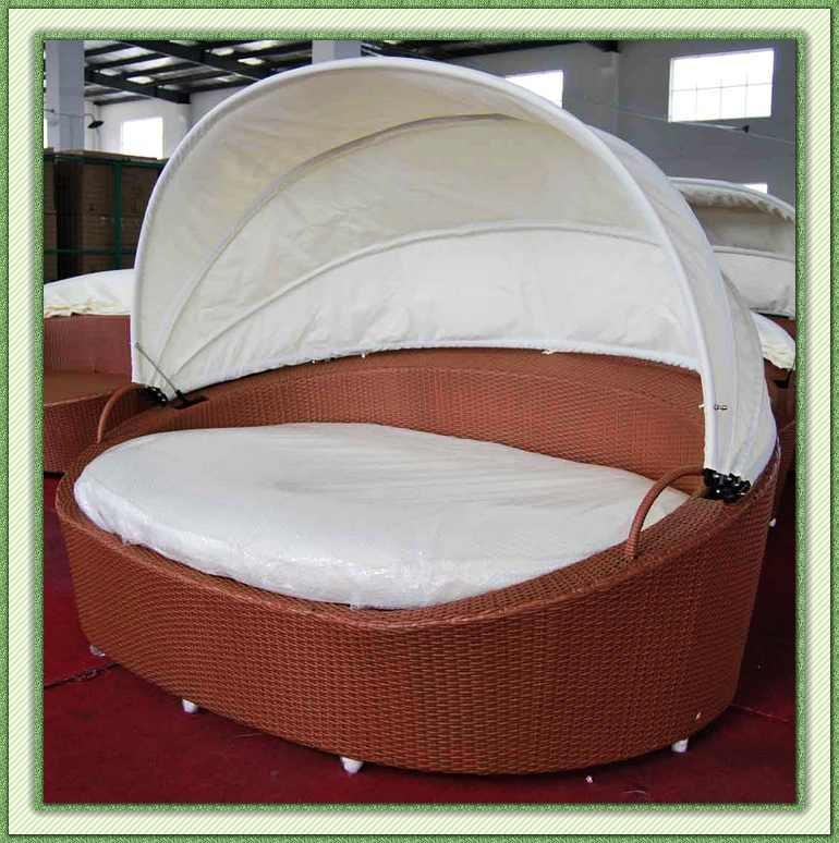 outdoor furniture lounge bed photo - 4