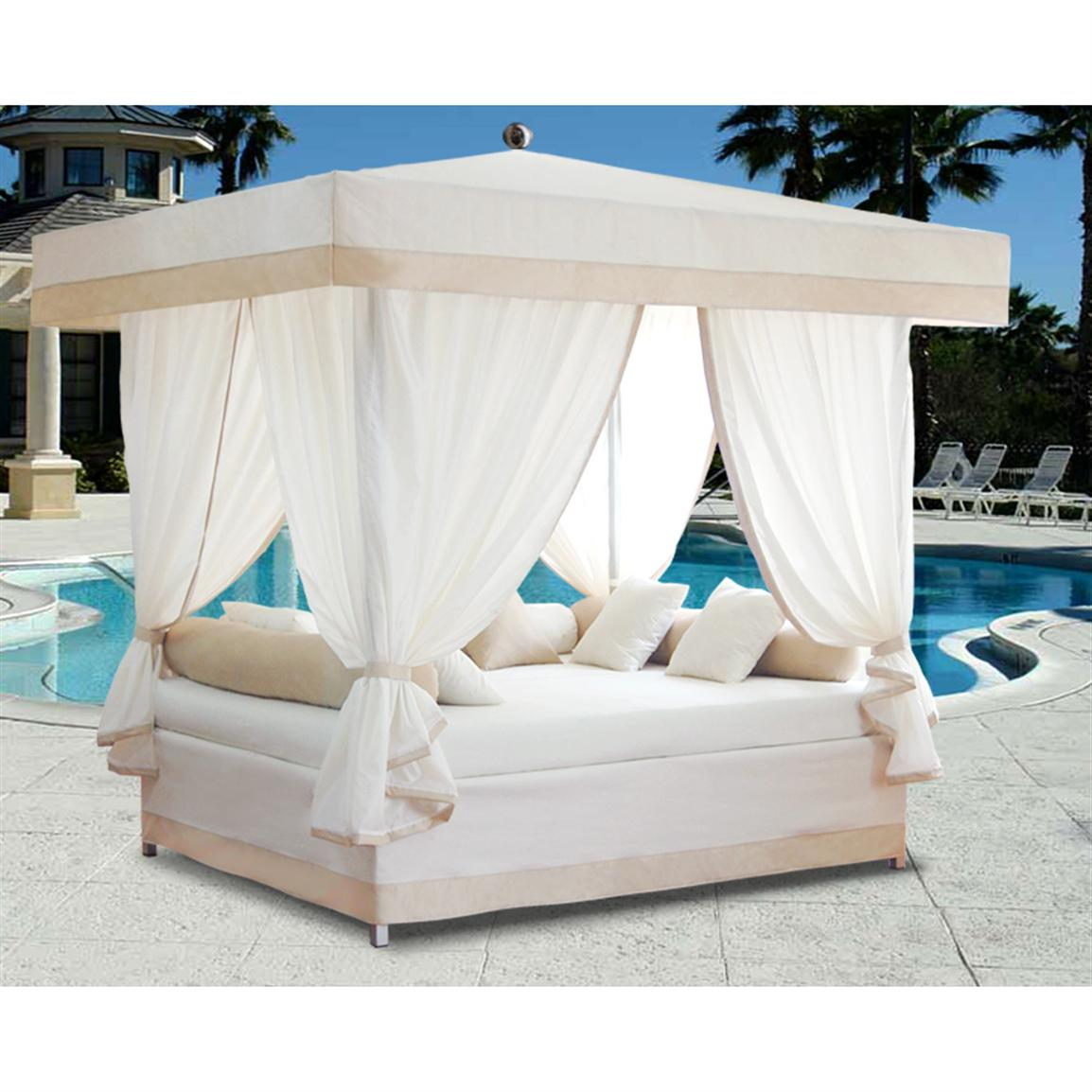 outdoor furniture lounge bed photo - 6
