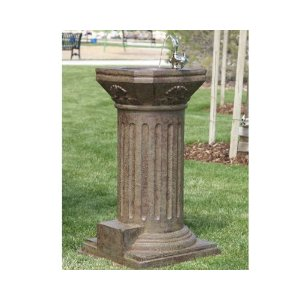 outdoor garden drinking fountain photo - 3