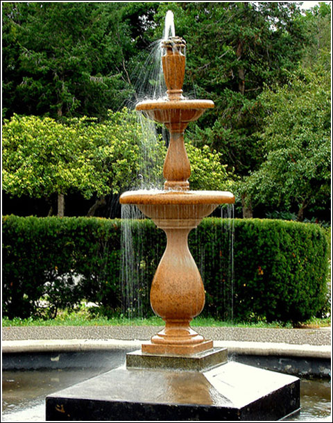 Outdoor garden fountains Interior Exterior Doors