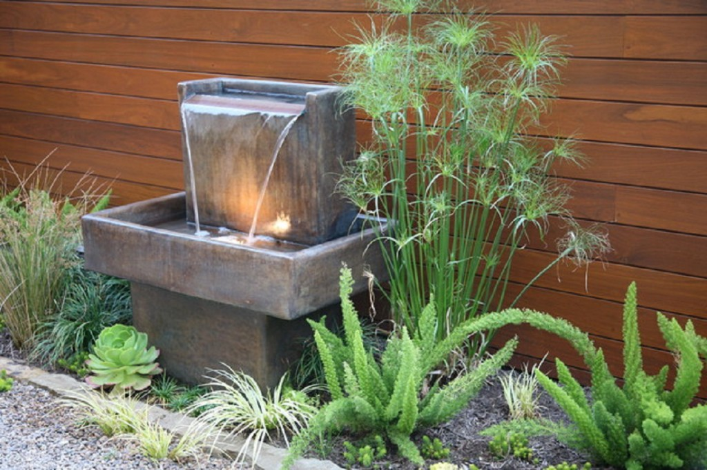 outdoor garden fountains photo - 4