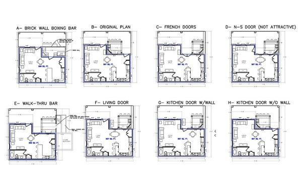 outdoor kitchen floor plans photo - 1