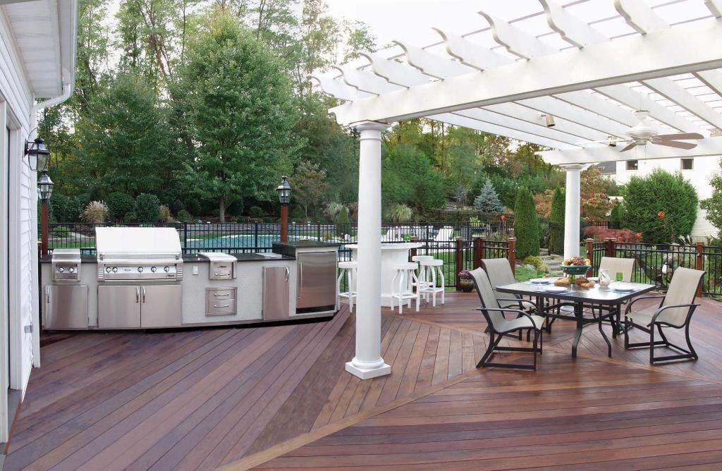 outdoor kitchen flooring ideas photo - 1