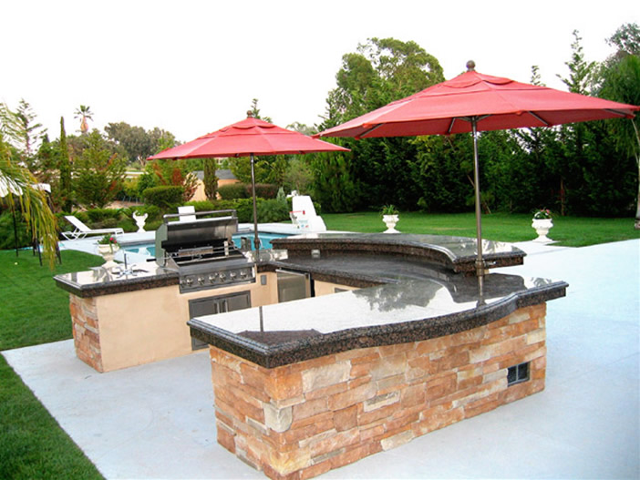outdoor kitchen gazebo photo - 3