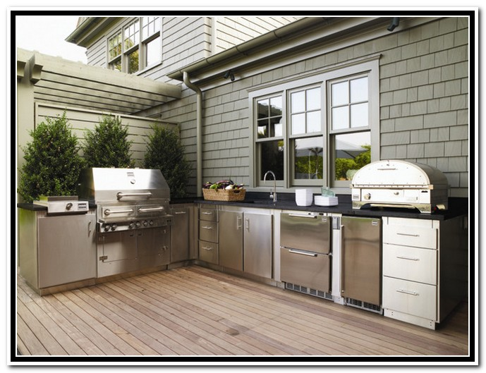 outdoor kitchen ideas diy photo - 4