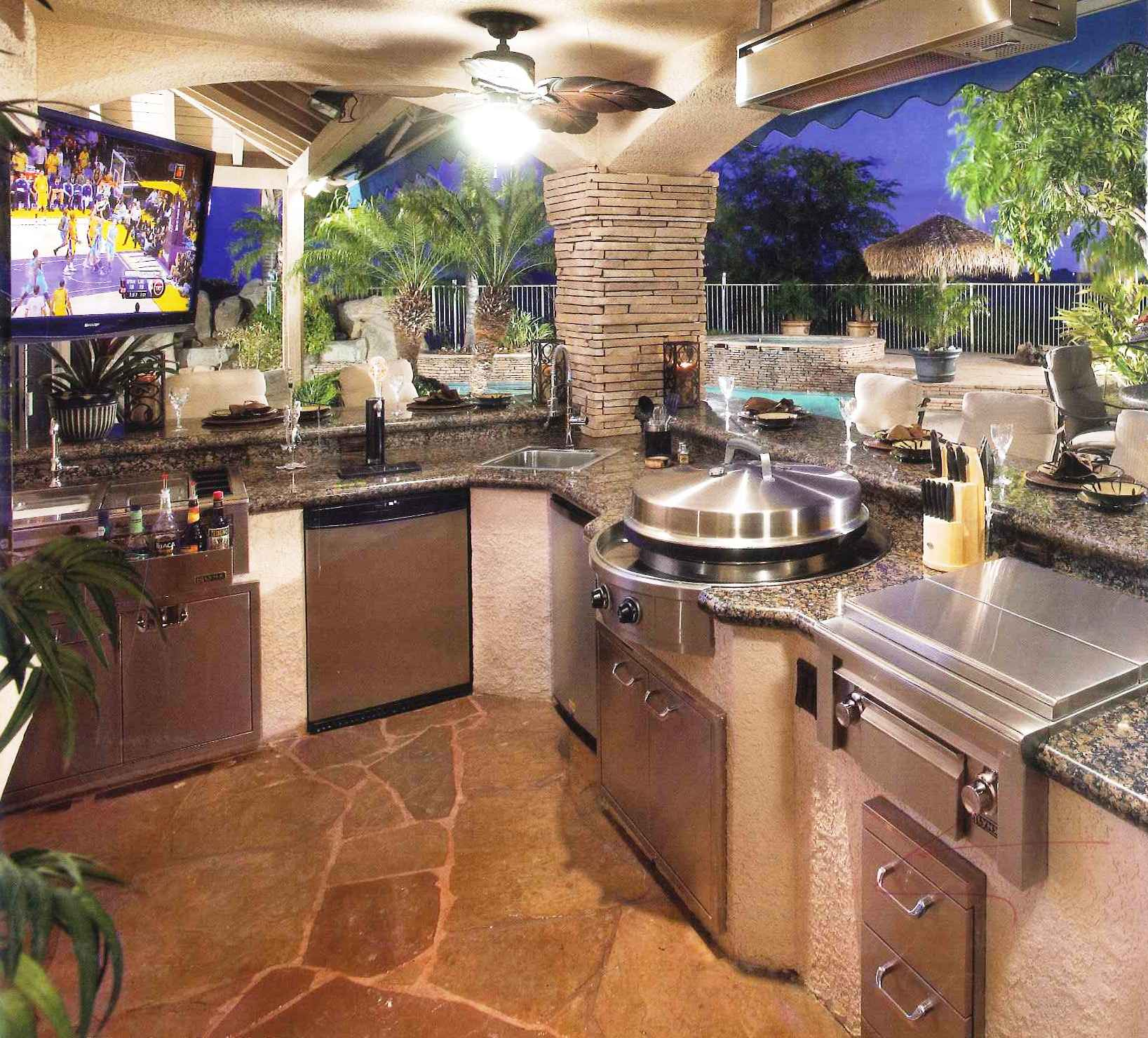 outdoor kitchen images photo - 4