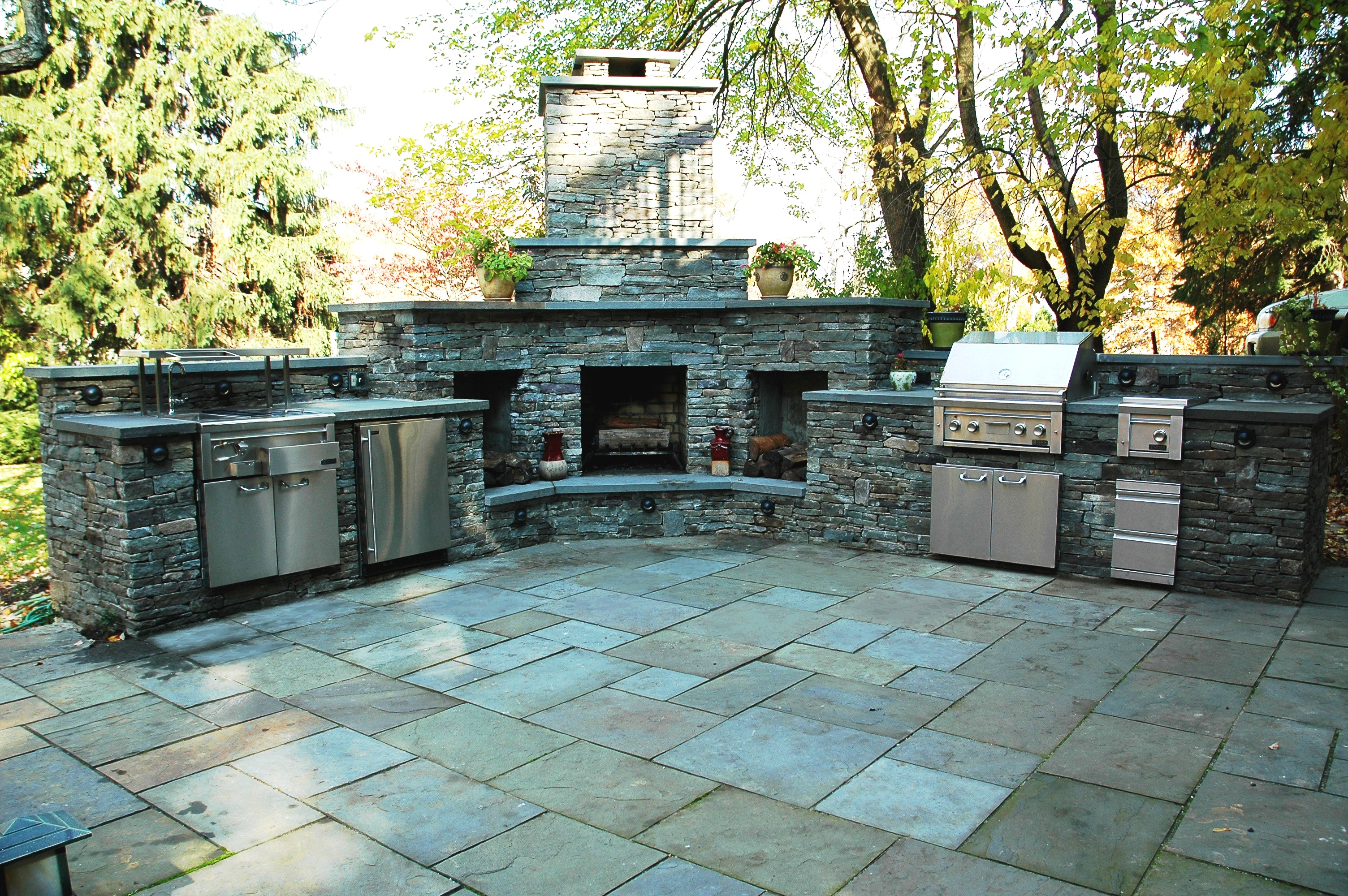 outdoor kitchen images photo - 5