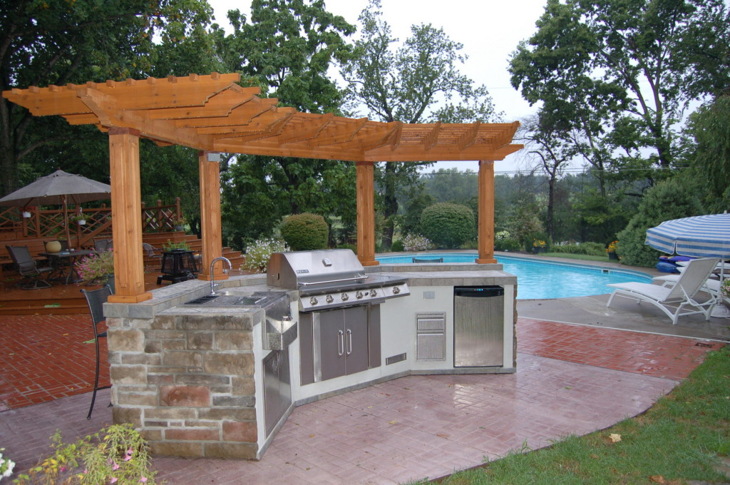 outdoor kitchen lakewood ranch photo - 5