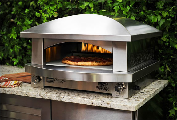 outdoor kitchen oven photo - 4