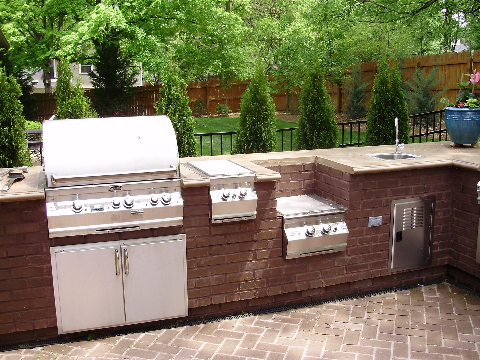 outdoor kitchen pictures photo - 1