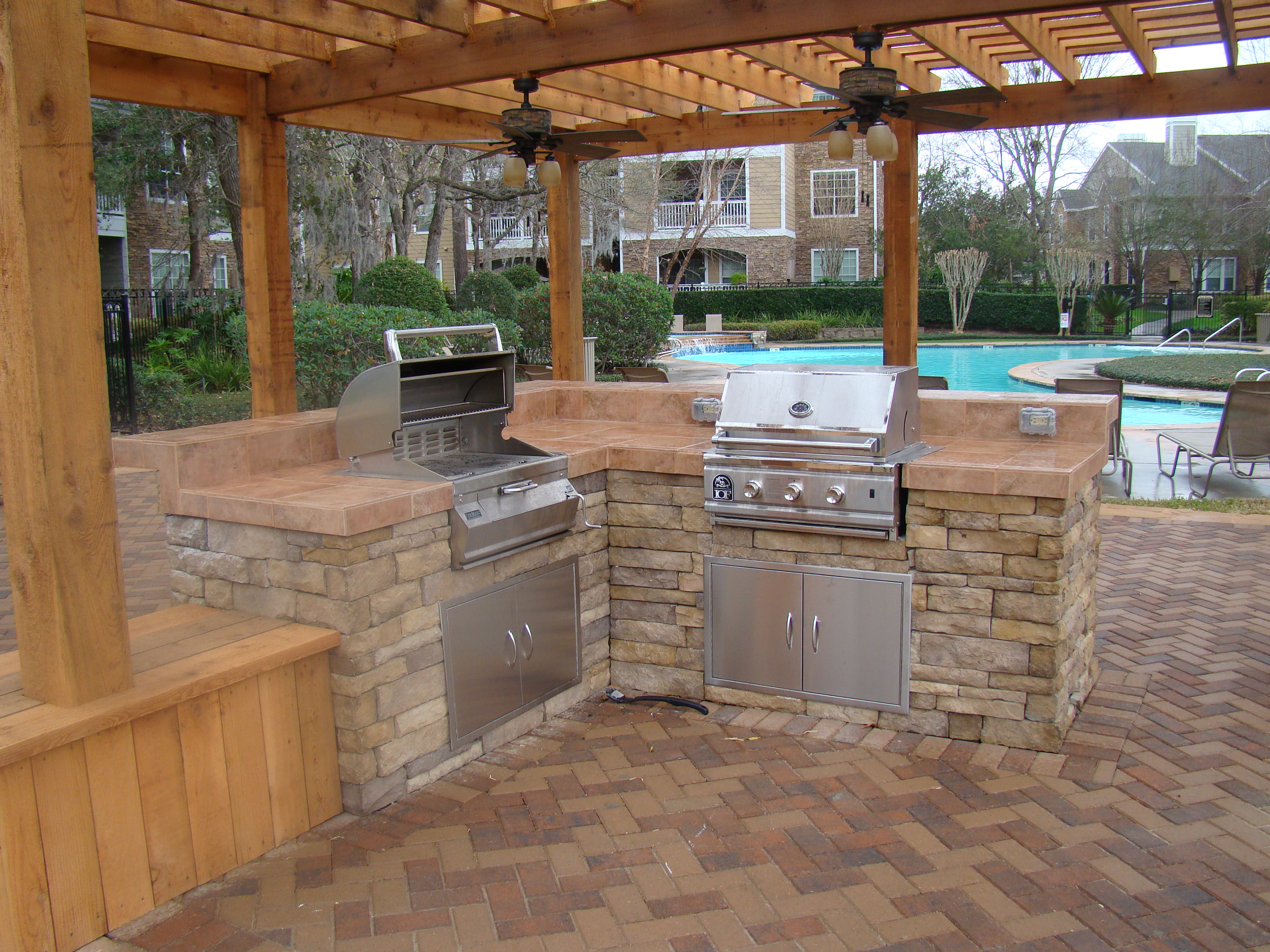 outdoor kitchen pictures photo - 2