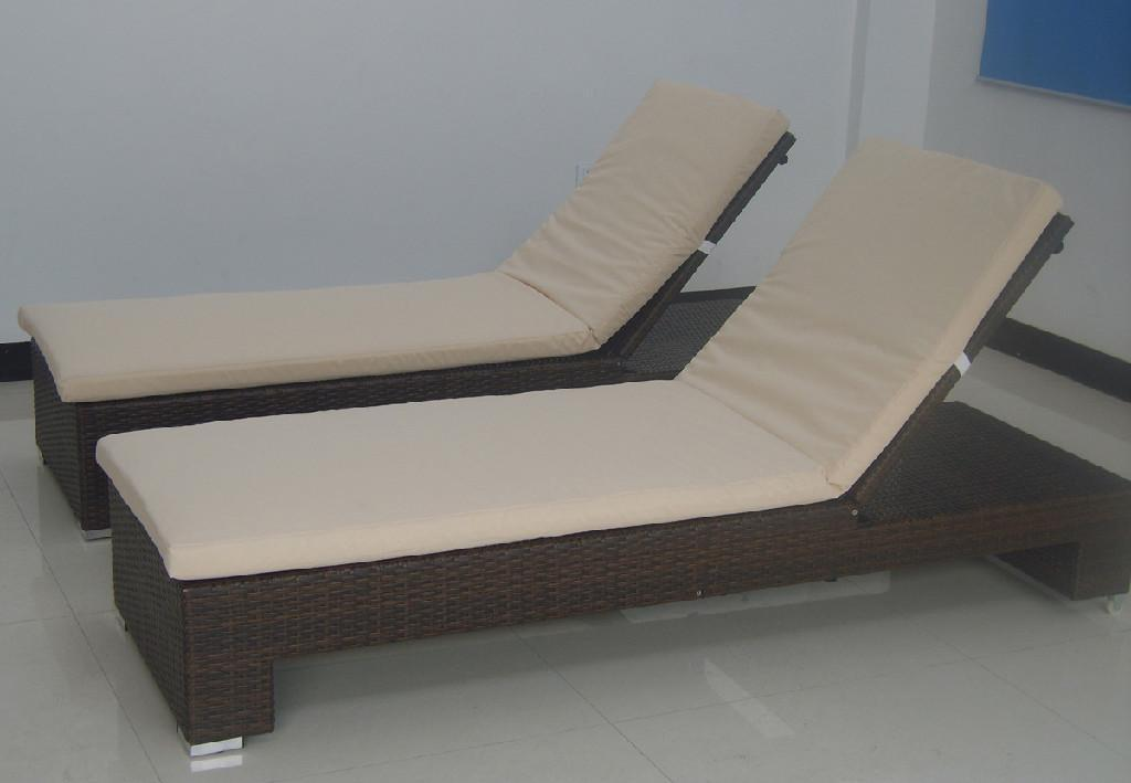 Outdoor lounge bed chair