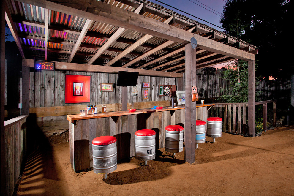 outdoor patio bar designs photo - 6