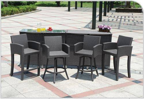 Amazing Outdoor Patio Furniture Bar Sets Part 14