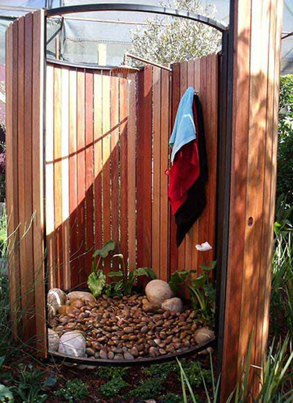 outdoor shower diy photo - 6