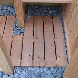 outdoor shower floors photo - 1