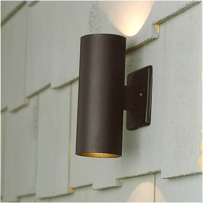 outdoor wall accent lighting photo - 1
