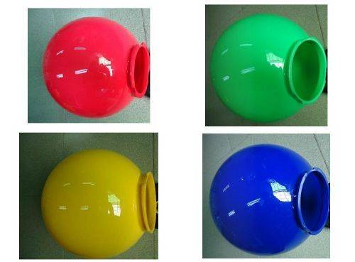outdoor wall light ball photo - 2