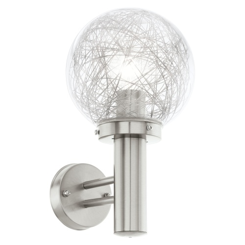 outdoor wall light ball photo - 3