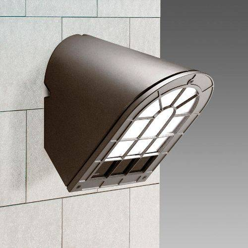 outdoor wall light mounting block photo - 1