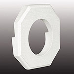 outdoor wall light mounting block photo - 5